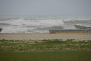 Marinha alerta para ressaca com ondas de 2,5m para SE