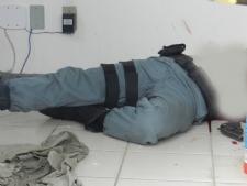 Vigilante patrimonial morto em serviço