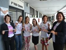 Adélia Pessoa engajada na causa (Fotos: Portal Infonet)