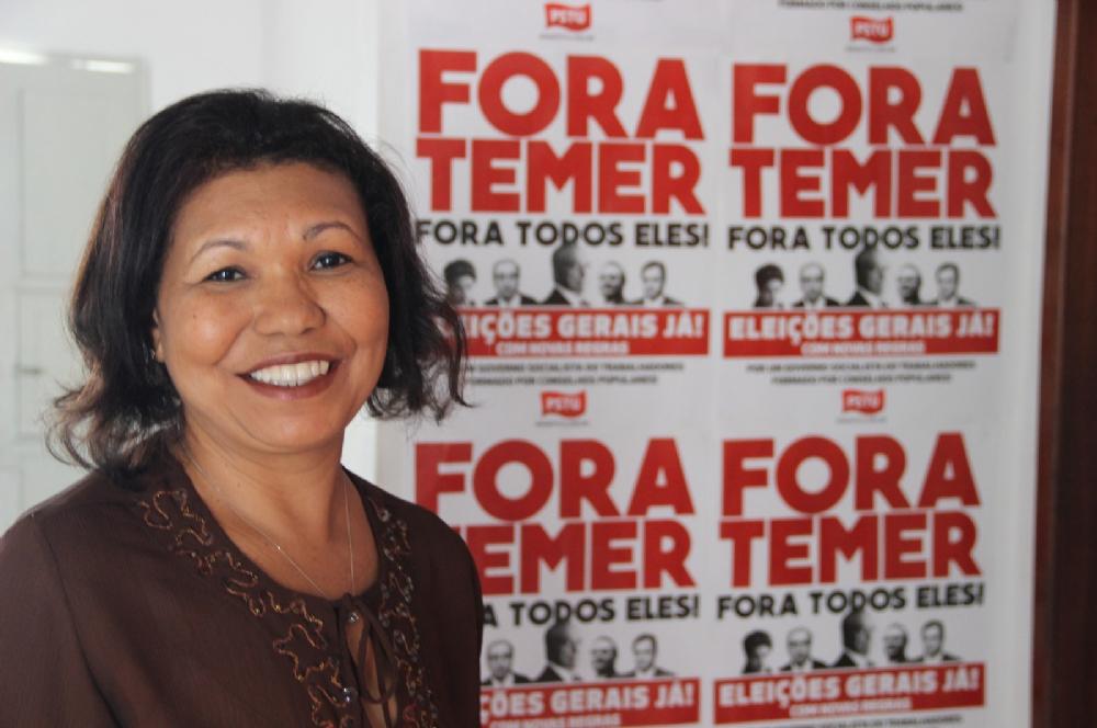Resultado de imagem para Vera Lúcia - PSTU