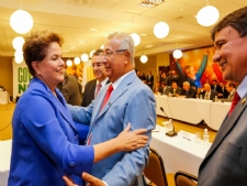 Jackson Barreto participa de reunião com Dilma Rousseff