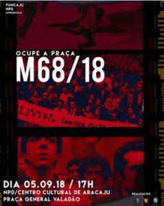 46099a3f93 Ocupe a Praça terá como tema os 50 anos das manifestações de 1968 ...