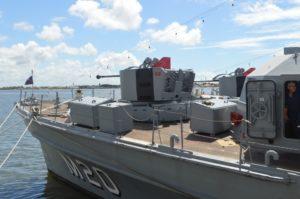 Navios da Marinha estarão abertos a visitação pública
