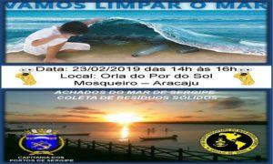 """Capitania dos Portos realiza operação """"Limpeza do Mar"""" no sábado"""