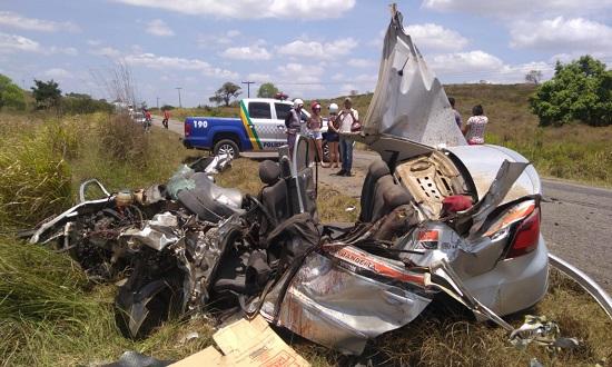 Colisão deixa um morto e dois feridos graves entre Riachão e Lagarto - Infonet
