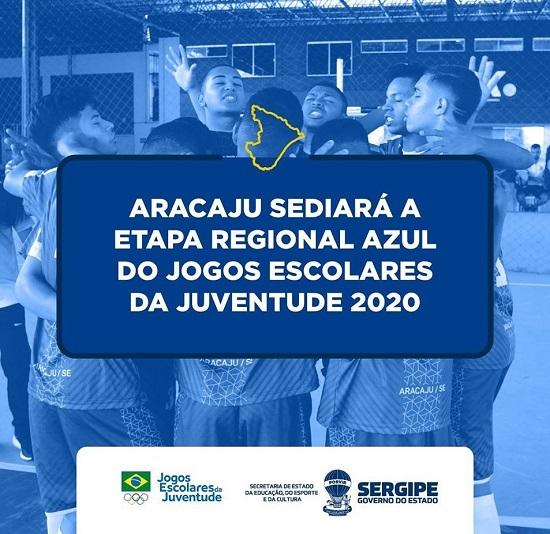 Aracaju sediará etapa regional dos Jogos Escolares da Juventude 2020 - Infonet