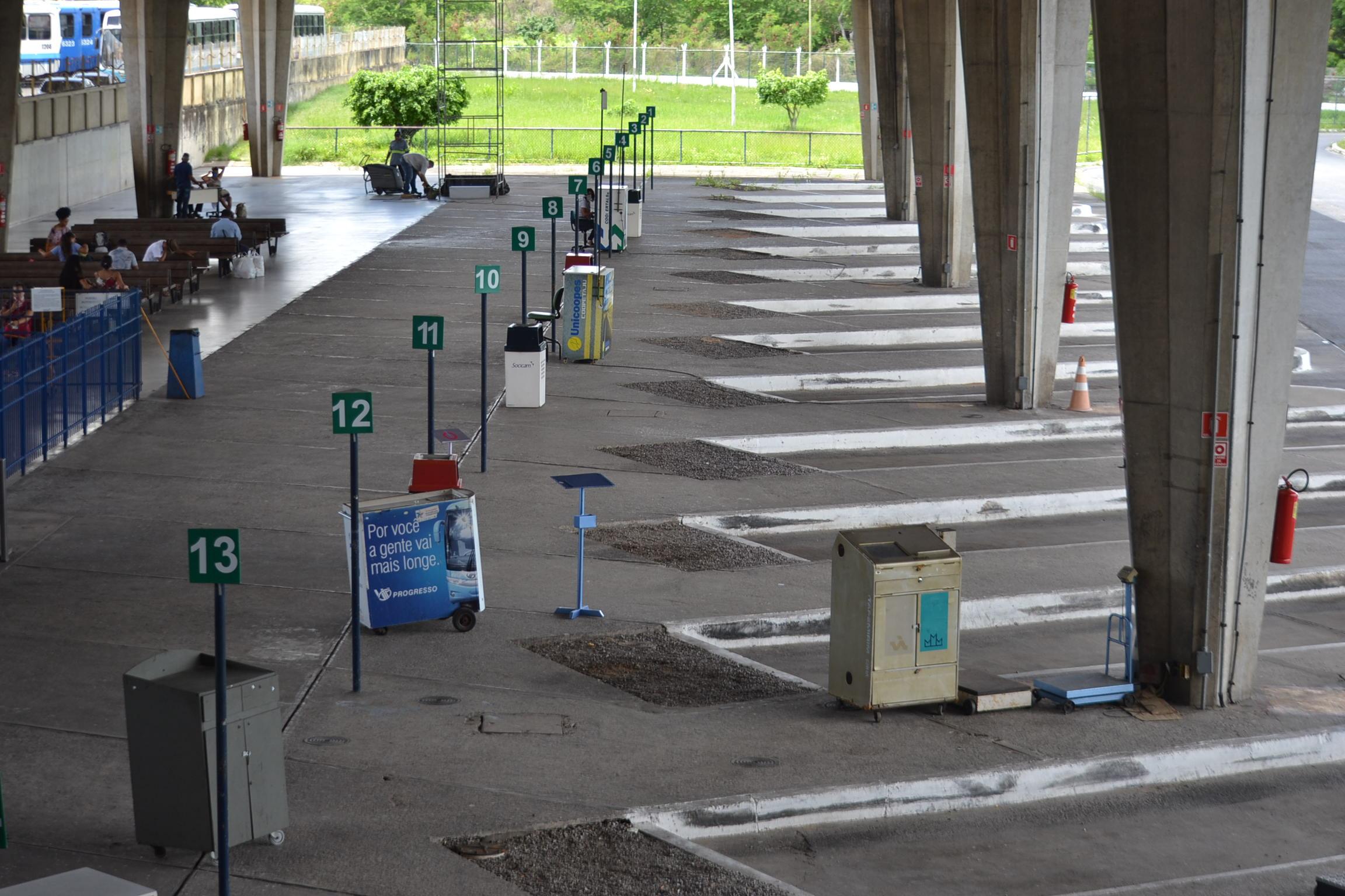 Pandemia: ruas, aeroporto e rodoviária de Aracaju têm baixo ...
