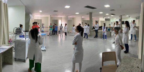Covid-19: Hospital de Cirurgia reativa 10 leitos de UTI