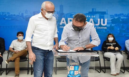 PMA e SSP firmam convênio para emissão gratuita de RG em Aracaju