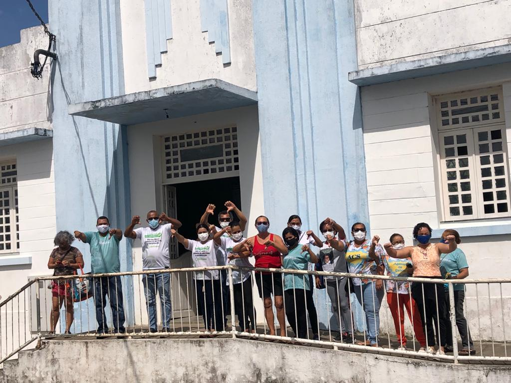 Servidores da saúde de Maruim retomam greve por tempo indeterminado
