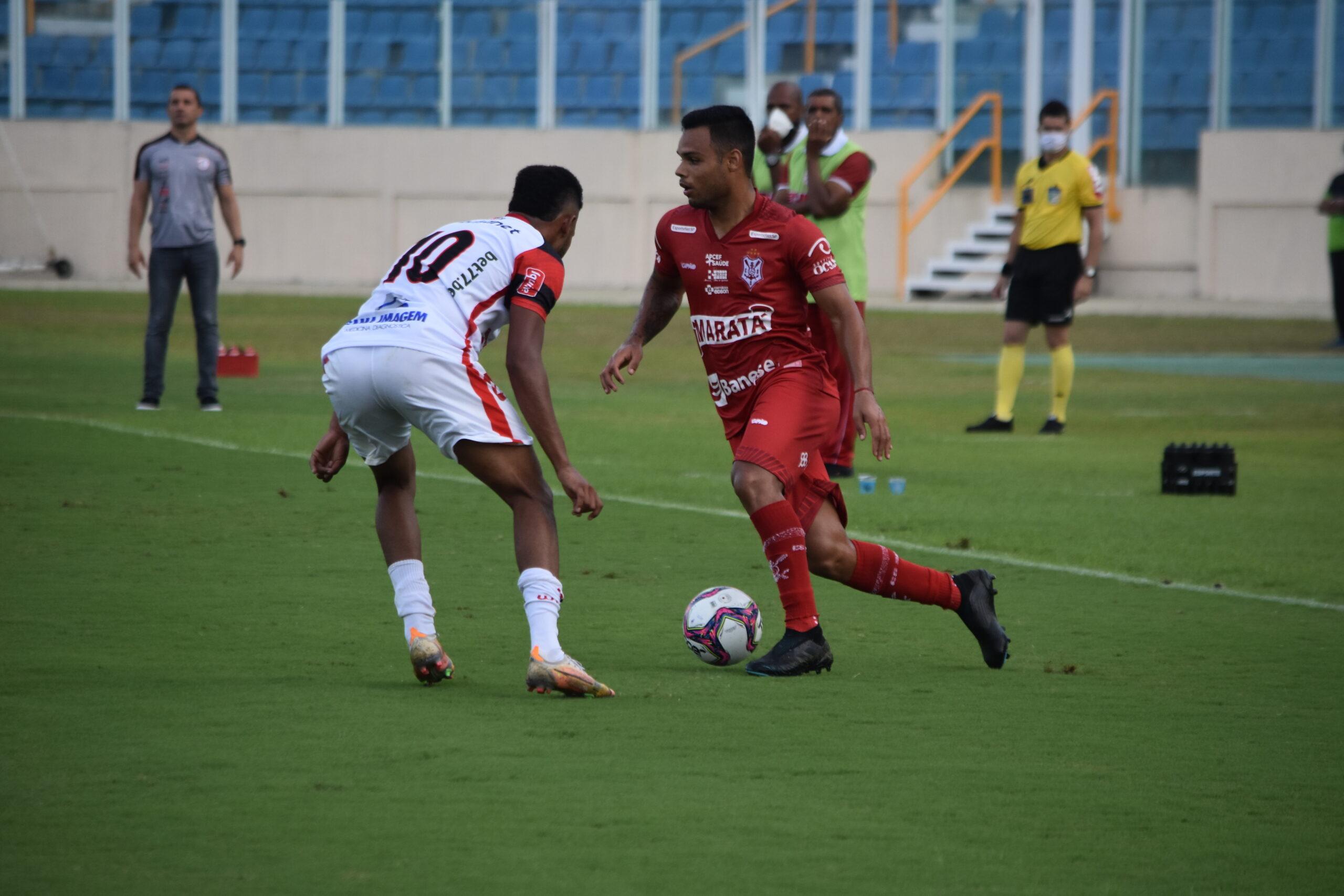 Sergipe arranca empate com o Campinense na 2° fase da Série D