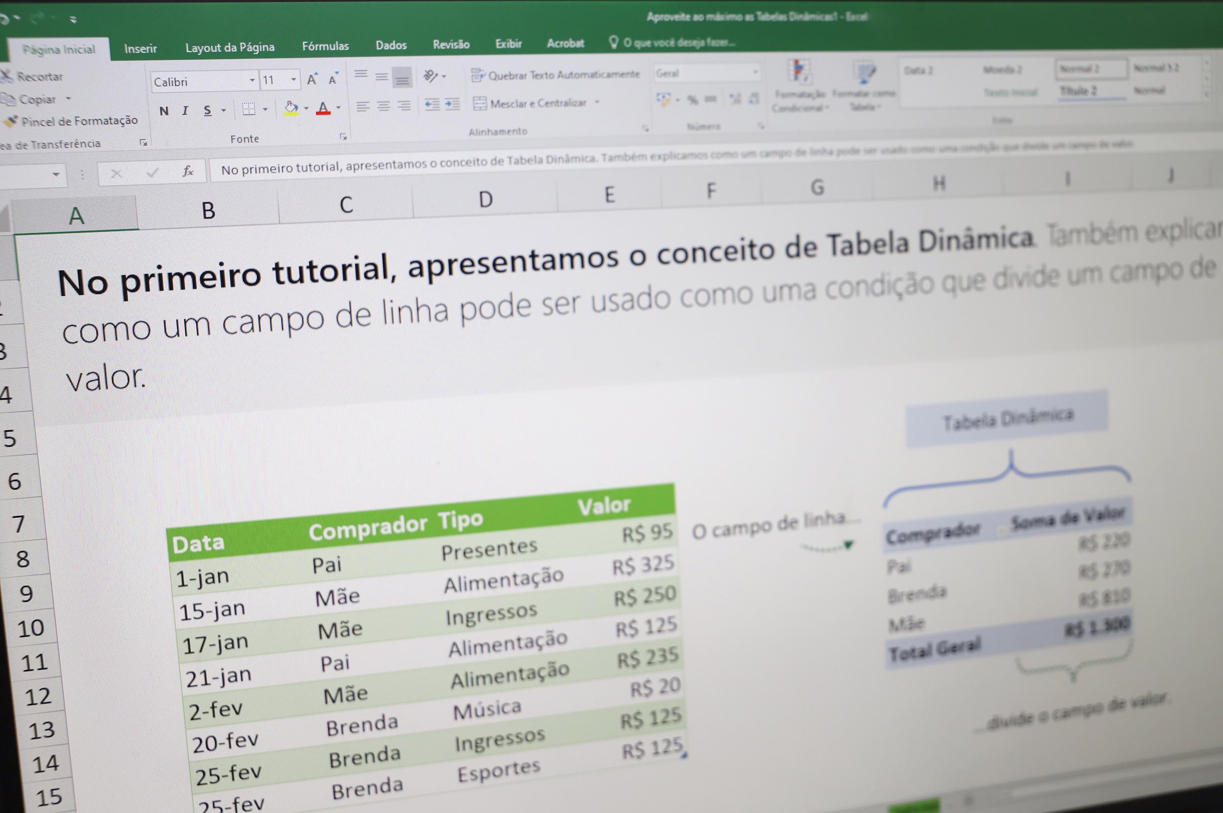 Seduc abre inscrições para curso de atualização em Excel Básico