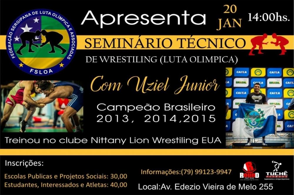 Luta Olímpica  seminário com Uziel Jr será neste sábado – Infonet ... e2fa0e9c99f10